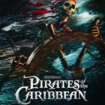 Pirates Of The Caribbean Curse Black Pearl movie poster Sign 8in x 12in