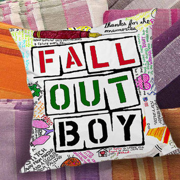Fall Out Boy Custom  decorative pillow and pillow case