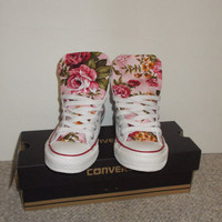 Reserved Floral Converse Shoes