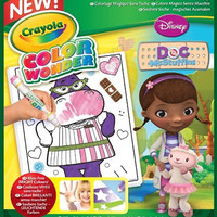 Crayola Color Wonder Coloring Pad Doc - Doc McStuffins