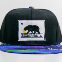 "Craft Beer Hat - ""BEERIFORNIA"" (Beach Bill)"