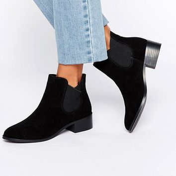 Pull&Bear Chelsea Boot at asos.com