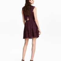Short Lace Skirt - from H&M