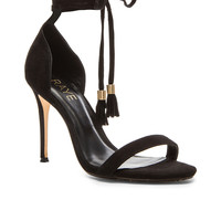 RAYE Bennie Heel in Black