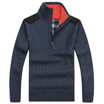 Navy Calvin Sweater