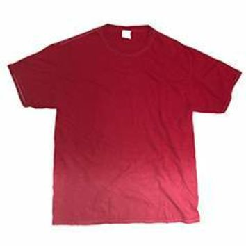Tie-Dye Adult 5.4 oz. 100% Cotton Ombre Dip-Dye T-Shirt