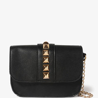 Studded Chain Strap Crossbody