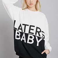 Rise Of Dawn Laters Baby Colorblocked Sweatshirt