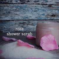 Rose Shower Scrub