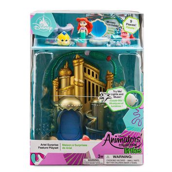 Disney Animators' Littles Ariel Little Mermaid Surprise Playset New with Box
