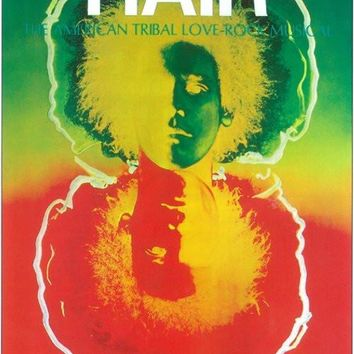 Hair 11x17 Broadway Show Poster (1968)