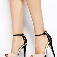 New Look Share Cut Out Two Part Sandals