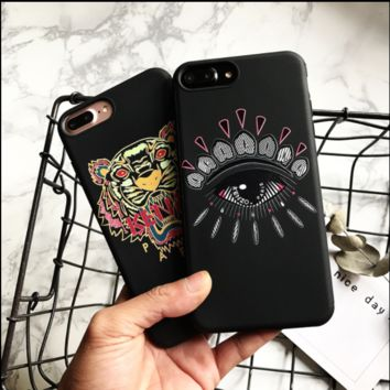 KENZO print phone shell phone case for Iphone 6p/7