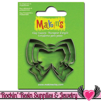 Makin's 3 piece BOW COOKIE CUTTERS