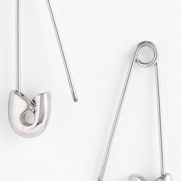 Carbon Copy Safety Pin Earrings | Nordstrom