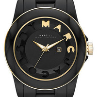 MARC BY MARC JACOBS 'Icon Stripe' Resin Bracelet Watch | Nordstrom