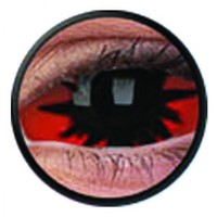 ColourVue Omega Red Scleral Full Eye Coloured Contacts