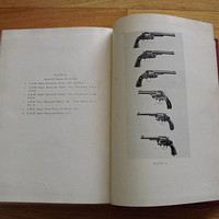 Vintage Gun Book, US Military History, United States Martial Pistols and Revolvers Book, Man Cave Book, First Edition Collectible Gun Book