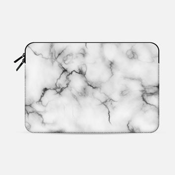 "Marble Macbook Pro 15"" sleeve by Will Wild 