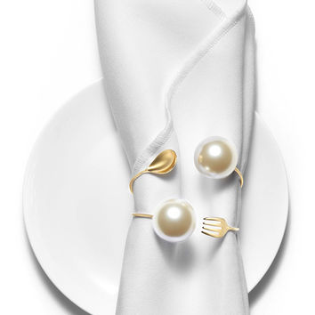 HEFANG JEWELRY Royal Tableware Series - Fork and Spoon Bracelet