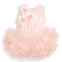 Sleeveless Floral Tutu Dress (Baby Girls)