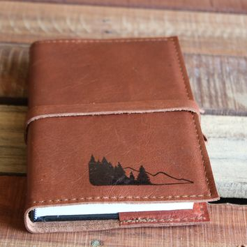 Pine Mountains Leather Journal