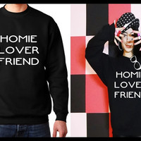 Homie, Lover, Friend Matching Couple Unisex T-shirt/ Sweatshirt (Gift for Couples)