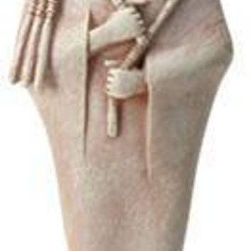 Osiris Wearing Mummification Wrap Egyptian God Statue 8.5H