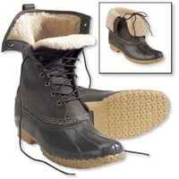 "Bean Boots by L.L.Bean, 10"" Shearling-Lined: Winter Boots 