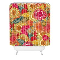 Sharon Turner Sunshine Garden Shower Curtain