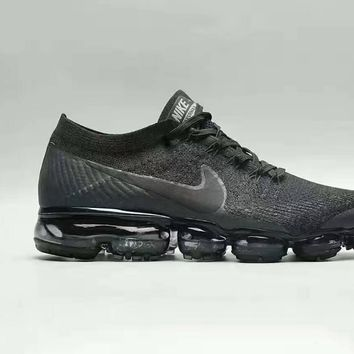 """NIKE""Vapor Max Fashion Men Running Sport Casual Steam Steam Cushion Woven Shoes Snea"