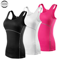 New Yoga Tops women Sexy Gym Sports Vest  Fitness Running Sleeveless Quick Dry Tank Top