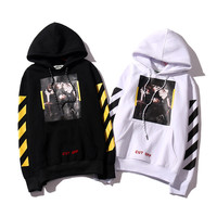 Winter Stripes Alphabet Cotton Hats Hoodies Jacket [9436859463]