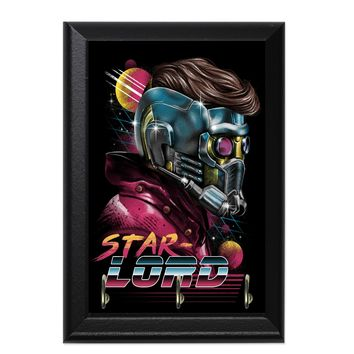 Retro Star Lord Decorative Wall Plaque Key Holder Hanger