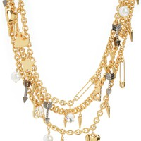 Multi Layer Love Chain And Charm Nec by Juicy Couture