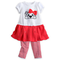 101 Dalmatians Knit Dress Set for Baby