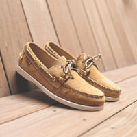 Sebago Dockside - Sand Suede | 7 Shoes | Ronnie Fieg x Sebago