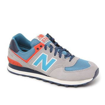 New Balance 574 Out East Shoes - Mens Shoes - Tan/Blue