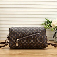 Louis Vuitton LV Women Fashion Leather Crossbody Shoulder Bag