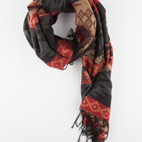 Tribal Blanket Scarf | Scarves