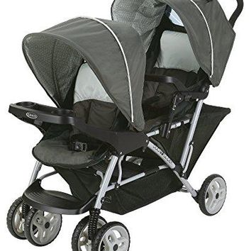 Double Twin Stroller Pram Light Weight Easy To Fold