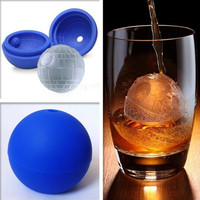 Star Wars Death Star Silicone Round Ice Cube Mold