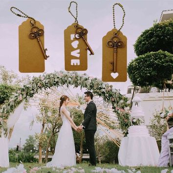 Wedding Souvenirs Skeleton Bottle Opener + Tags Wedding Favors and Gifts for Guest Party Favors Festive Party Supplies