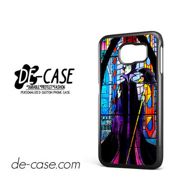 Maleficent Stained Glass DEAL-6812 Samsung Phonecase Cover For Samsung Galaxy S6 / S6 Edge / S6 Edge Plus