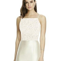 Dessy Collection T2982 Lace Top Bridesmaid Separates