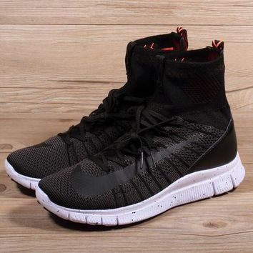 Nike Free Flyknit Mercurial Superfly Black Running Shoes