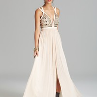Free People Maxi Dress - Golden Chalice