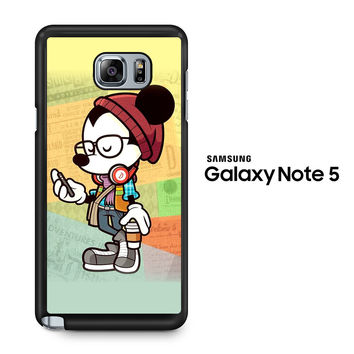 Hipster Mickey Mouse Samsung Galaxy Note 5 Case