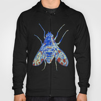 Tiger Bee Fly 2 Hoody by Rachel Hoffman
