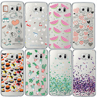 Nurse Macarons Soft TPU Clear Phone Case for Samsung Galaxy S4 S5 S6 S7 Edge Note4 Note5 Cute Ultra Thin Love Back Cover Coque
